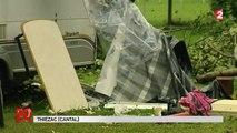 Intempéries dans le Cantal : un homme meurt écrasé par sa caravane