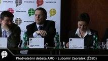 Předvolební debata (4/6) - Lubomír Zaorálek (ČSSD)