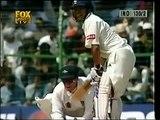 Sachin Tendulkar vs SHANE WARNE first time in India Sachin faces Warne in test cricket
