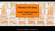 Dynamic Fibonacci Grid Forex Trading Software Quick Tutorial - Trend Trade