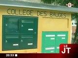 Education : Hervé Gaymard au collège des Bauges