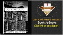 Duty and Deceit A dark thriller set against the backdrop of an isolated country estate PDF