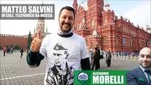 Matteo Salvini in collegamento da Mosca [Radio Padania - 08/12/2014]