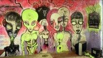 Portland OR, Street Art 2012 - 2013 Slap Stickers, Wheat Paste, Stencils, Tags, Graffiti Mural Art
