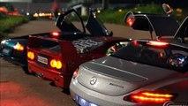 Premium classi 1/12, Mercedes-Benz SLS AMG LED tuning by MBW