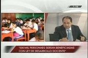 TVPerú Noticias 06/08/12 Ley docente tendrá aumento salarial