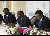 Ticad V : Ali Bongo Ondimba et le Premier Ministre japonais Shinzo Abe se rencontrent