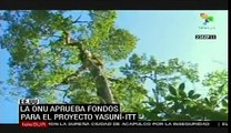 ONU aprueba fondos para proyecto Yasuní Itt