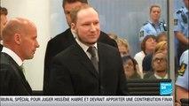 Le procès du tueur d'Oslo Anders Breivik condamné à 21 ans de prison