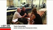 """Yanis Varoufakis """"Je ne vois pas la vision de l'Europe de François Hollande"""""""