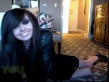 Eugenia Cooney does Emo Pushup and Emo Jumping Jack