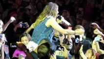 30 Seconds To Mars Jared Leto singing in the crowd Carnivores Tour Phoenix Az 09-10-2014