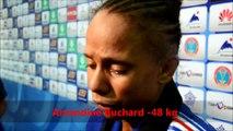 Les réactions d'Amandine Buchard
