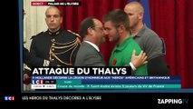 Attaque dans un Thalys: Les héros décorés de la Légion d'honneur par François Hollande!