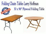 Folding Chairs Tables Larry Hoffman - Plywood Folding Table