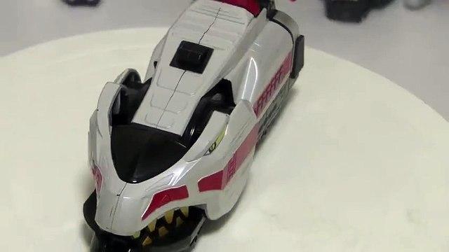파워레인저 엔진포스 티라인 장난감 회전 소개 đồ chơi Siêu Nhân Cơ Động Tập Power rangers Go Ongers Toys