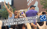 Dave Grohl et les Foo Fighters trollent une manif homophobe
