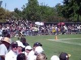 Drew Brees Quarterback and wide receiver drills SAINTS Training Camp NFL 2013