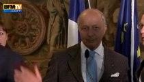 Laurent Fabius victime d'un malaise à Prague