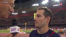 """Lavillenie décroche le bronze lors des Mondiaux d'athlétisme : """"Les Mondiaux, ce n'est pas ma compétition"""""""