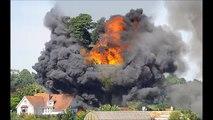 Shoreham plane crash: Seven dead after Hawker Hunter hits cars
