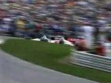 1993 CART Mid-Ohio - Al Unser Jr./E. Fittipaldi Contact