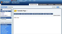 Setting up a Timetable Signup Sheet using Blackboard Wikis