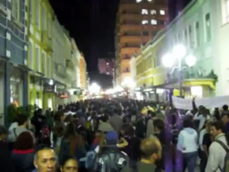 Parte 1 - Manifestação Floripa Contra Aumento 31 maio 2007