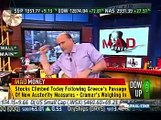 February 13th 2012 CNBC Mad Money Jim Cramer Stock Market Show Opening