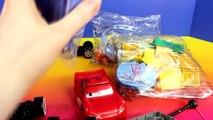 Disney Pixar Cars Lego Duplo Flo s Cafe v8 Lightning McQueen Sally Mater Doc Hudson Batman Batmobile