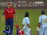 Cricket Fight, Yuvraj Singh Vs Andrew Flintoff,Ind Vs Eng, 2007 T20 World Cup