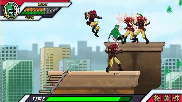 Power Rangers Samurai ALL New Gameplay 2014 - Power Rangers Game For Kids