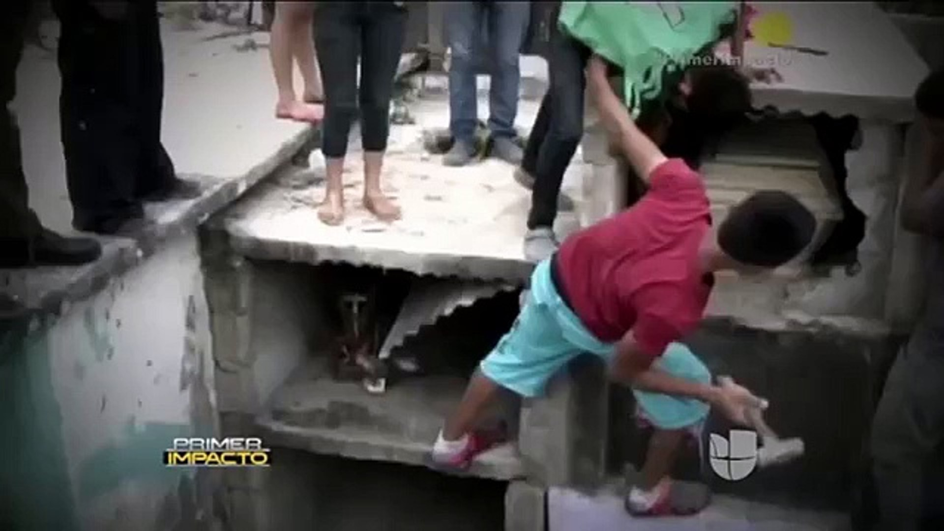 Dead girl wakes in coffin and screaming for help