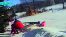 Funny Fails Compilation - Skiing Fails - Funny Skiing Accidents