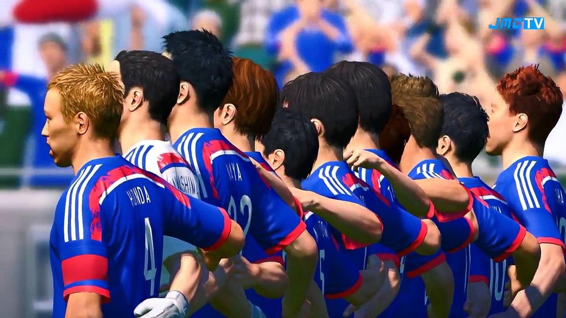 Japan vs. Ivory Coast | 2014 FIFA World Cup Brazil Simulation | Pro Evolution Soccer 2014 (PES 2014)