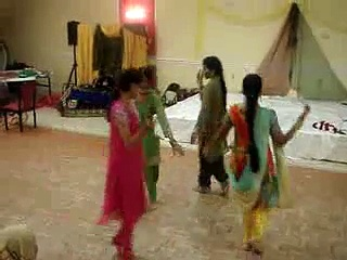 Classical indian wedding dance