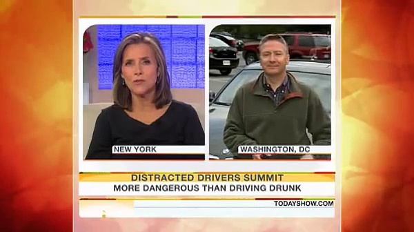 Texting While Driving: More Dangerous Than Driving Drunk (The Today Show)