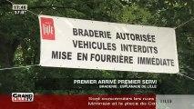 Braderie de Lille 2015 : Les premiers bradeux s'installent