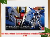 ZGMF-X10A Freedom Gundam GUNPLA RG Real Grade Gundam Seed 1/144