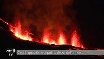 Réunion: quatrième éruption de l'année du Piton de la Fournaise