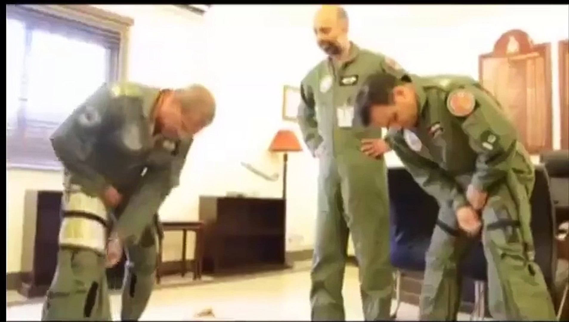 Air Chief Leading The Air Strikes Against Terrirest  viral Video on Social Media