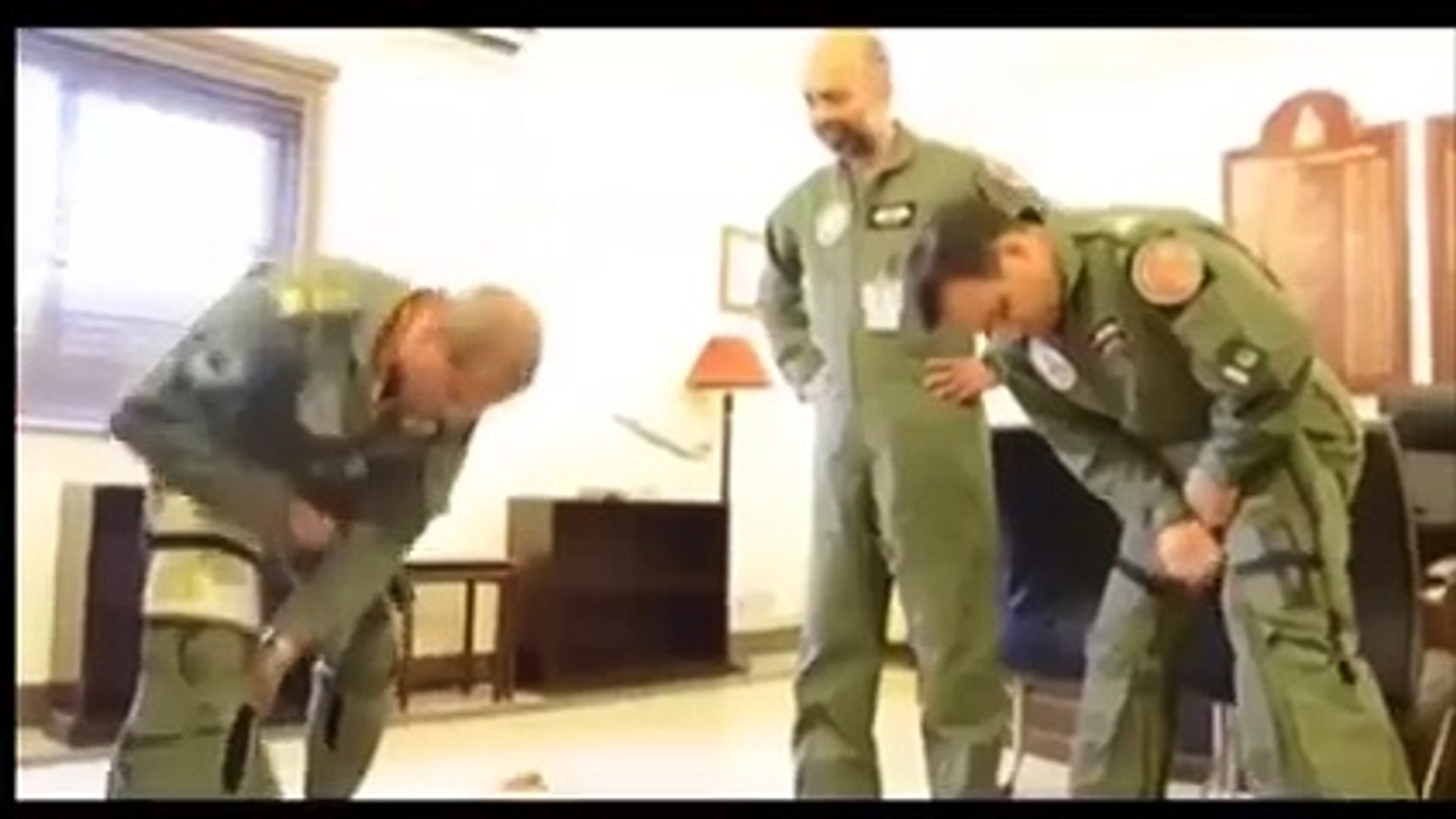 Exclusive Footage: Air Chief Leading the Air Strikes in ‪Zarb-e-Azb‬