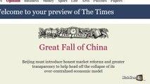 After the credit crisis, the euros crisis ...the world's bourses crisis ? Alex Taylor - KickStarTV - 08/25/2015