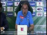 Sassuolo-Napoli 2-1, conferenza stampa di Maurizio Sarri (24.08.15)