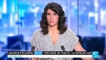 """Attaque du Thalys : Le récit des """"héros"""" américains"""