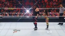 Crazy Chick Woops Kanes Ass in WWE