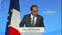 """Une solution politique en Syrie passe par la """"neutralisation"""" de Bachar Al-Assad, estime François Hollande"""