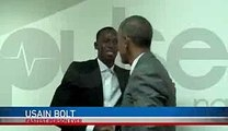 Usain Bolt Meets President Obama Funny Moment -  Pulse TV Exclusive