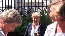 Élections régionales : la socialiste Marie-Guite Dufay en campagne dans l'Yonne