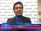 N11 Informativo JUNTA DE USUARIOS DE SUSALUD DEBERAN FISCALIZAR EL BUEN SERVICIO DE ATENCION EN SALUD EN LA REGION